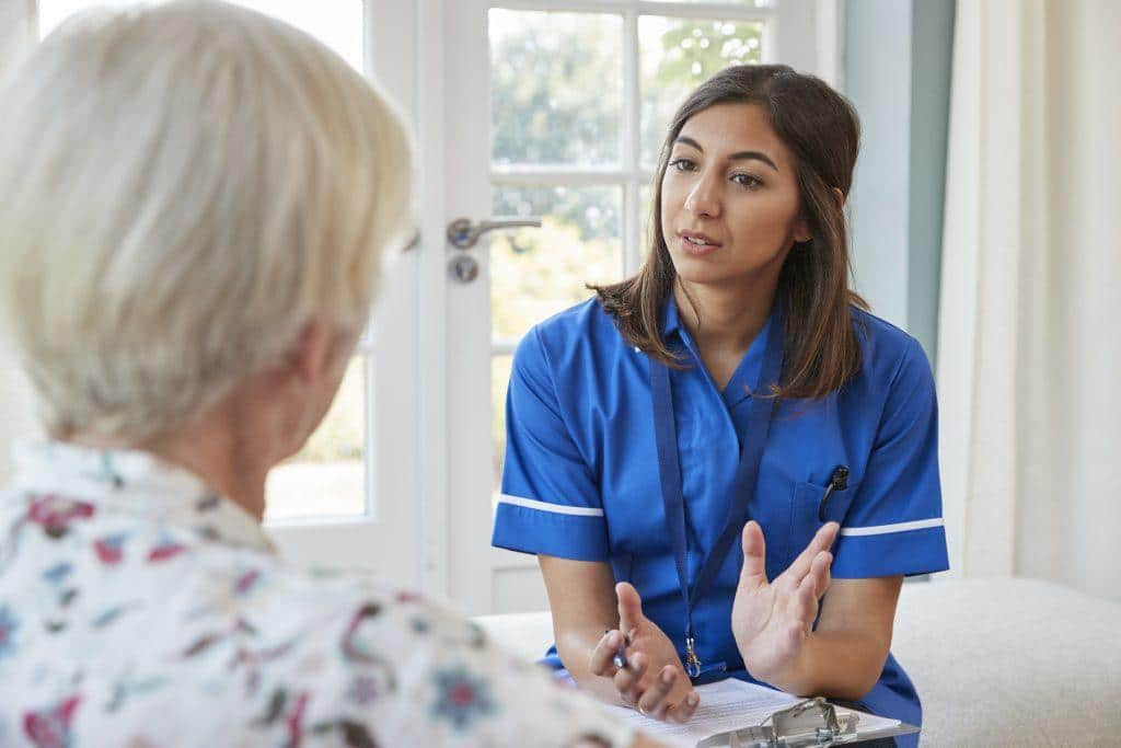 senior-woman-talking-to-young-care-nurse-on-home-P3MELDH-1024x683 Home